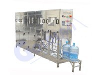 3-5 Gallon Bottle Washing, Filling, Capping Machine with CE (60BPH)
