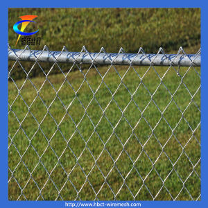 (Factory Direct) Galvanized Chain Link Fence pictures & photos