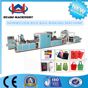 Non Woven Shopping Bag Making Machine/Nonwoven Box Bag Machine/Nonwoven D Cut Bag Making Machine pictures & photos