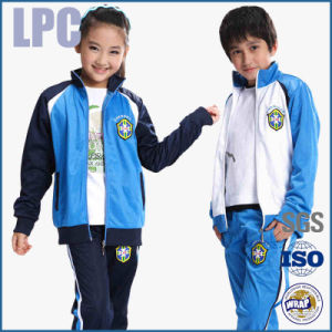 OEM Wholesale Cheap Sports Printed Embroidered Children′s School Uniform pictures & photos