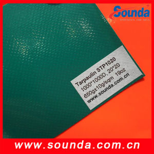 850g/Sqm Strong Coated PVC Tarpaulin Tent Fabric pictures & photos