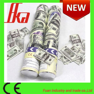 China Dollar Euro Chile Money Confetti Party Popper Shooter