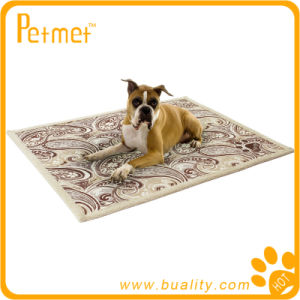 Soft Printed and Embroideried Dog Blanket (PT38260)