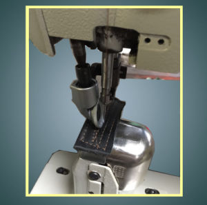 Rebuilt Single Needle Post Bed Roller Compound Feed Sewing Machine (WR-9910) pictures & photos