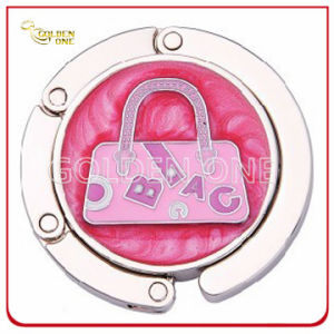 Fancy Design Circle Foldable Metal Handbag Hook for Lady pictures & photos