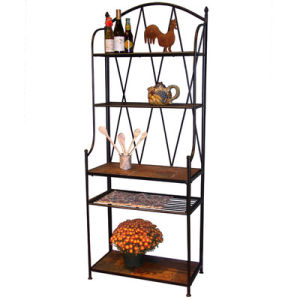 Baker′s Rack Kitchen Rack Home Decoration Steel Rack with Ce (G-KB16) pictures & photos