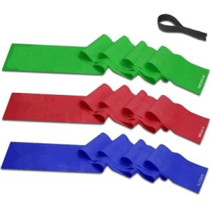 Promotional Exercise Latex Stretch Resistance Bands with Custom Logo