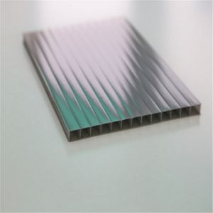 Colored Anti-Fog Policarbonate Hollow Panel with ISO Certificate