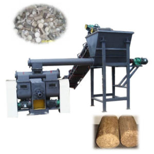 Piston Press to Make Wood Briquettes Calorific Wood Briquette pictures & photos