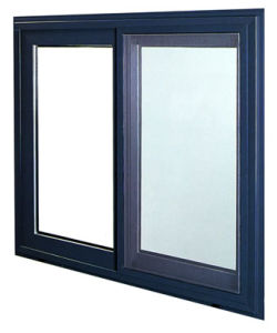 Design Aluminum/Aluminium Alloy Horizontal Sliding Glass Window