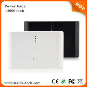 Larger Capacity 12000 mAh Mobile Phone Power Bank