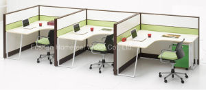Modern Modular Office Layout Computer Workstation Divider Furniture (HF-LTP006) pictures & photos