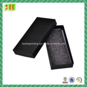 Small Black Paper Gift Packaging Box pictures & photos