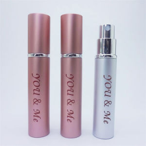 Customized High Quality Pink Perfume Aluminum Glass Bottle pictures & photos