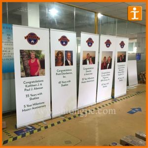 Banner Stand Roll up Display (TJ-BC-1) pictures & photos