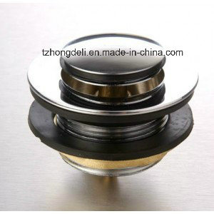 "Brass Waste for Bathtub 1 1/2"", Clic-Clac, Strainer pictures & photos"