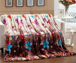 Wholesale Hot Sale Printed Flance Super Comfortable Blanket pictures & photos