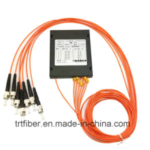 Fbt 1X6 mm 50/125 Fiber Optic Coupler with FC Connector pictures & photos