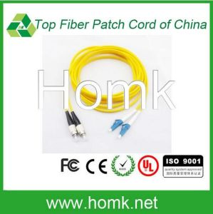 LC FC 12 Core Bundle Fiber Optic Patch Cord