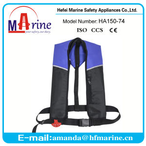 Whole Sale Marine Inflatable Life Jacket with Ec Certificate pictures & photos