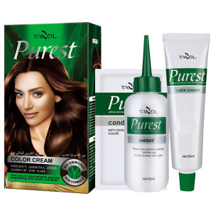 Purest Free Ammonia House Use Hair Color Cream Medium Brown pictures & photos