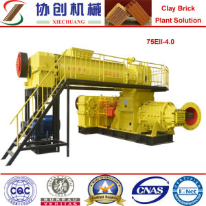 Extruder Clay Block Making Machine Jky75eii-4.0