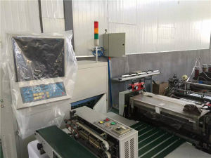 Used Non Woven Bag and Plasitc Bag Bottom Forming Machine for Sales