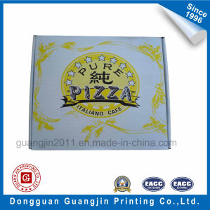 High Quality White Kraft Paper Corrugated Pizza Box pictures & photos