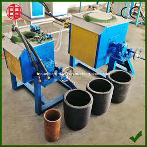 Portable Small Capacity Gold Induction Melting Furnace pictures & photos