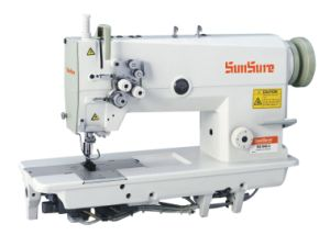 High Speed Double Needle Sewing Machine pictures & photos
