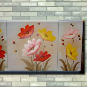 Handmade Oil Flower Painting Landscape Oil Painting for Decor pictures & photos