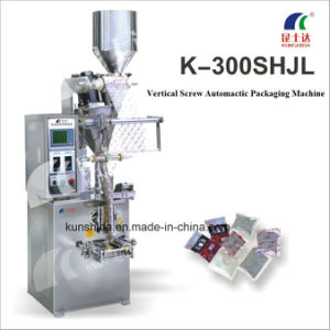 Vertical Auger Powder Packing Machine with Three-Sides Sealing pictures & photos