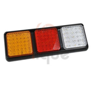Waterproof 24V 12V LED Tail Light Truck Trailer Stop Turn Indicator Submersible