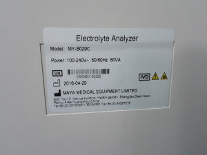 My-B029 Electrolyte Analyzer pictures & photos