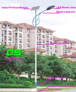 WPSRR-8001 3~15m Municipal Road Hot DIP Galvanized Steet Light Pole style pictures & photos