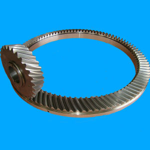 Rotary Table Spiral Bevel Gear for Oil Drilling Rig pictures & photos