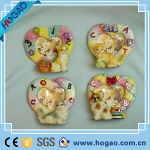 One Love Heart and Cute Cat Polyresin Photo Frame pictures & photos