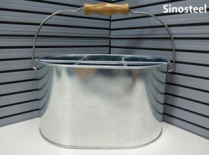 Beer Ice Galvanized Metal Bucket with Handle pictures & photos