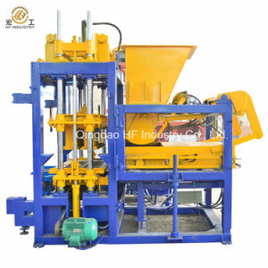 Pavement Brick Hydraulic Forming Machine Qt5-15 Interlocking Block Making Machine in Nigeria pictures & photos