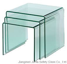 Hot Bend Glass (Curved Glass) for Building and Furniture