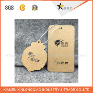 Best Price Eco-Friendly Printed Logo Kraft Hang Tag pictures & photos