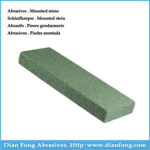 1g Rectangle Shaped Silicone Carbide Made Green Dressing Abrasive Stone pictures & photos