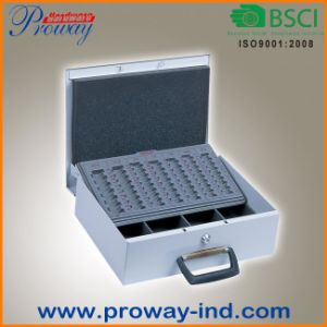 Automatically Slide Coin Tray Euro Cash Box (C-360M-EURO4) pictures & photos