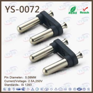 Yysr Brand Power Cord India 2 Pins Plug pictures & photos