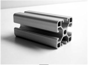 Constmart Supplier V Shaped 6060 Aluminium Extrusion Profile for Shower Enclosure pictures & photos