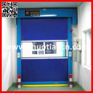 High Speed Rolling up PVC Industrial Door (ST-001) pictures & photos