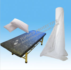Nonwoven Examination Bed Sheet Roll, Spunlace Bed Sheet Roll pictures & photos