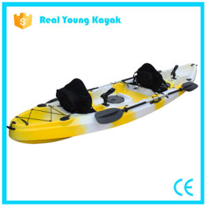 Three Person Seat Fishing Family Plastic Rotomolding Kayak pictures & photos