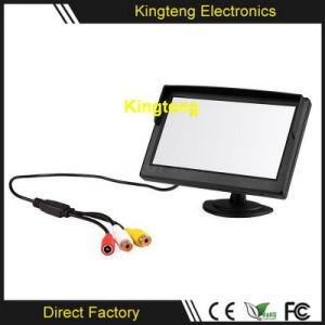 Digital Rear View Car Monitor 5 Inch TFT LCD Back up Vehicle Monitor