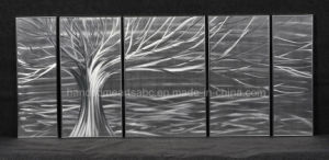Willow Tree of Life Metal Wall Art / Aluminum Painting for Decor pictures & photos